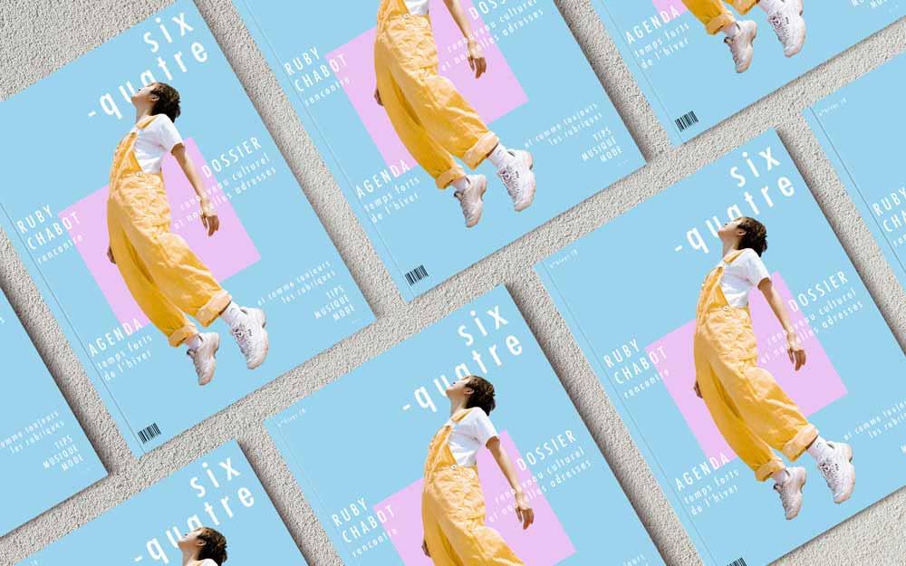 Six-quatre magazine, page de couverture