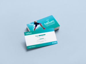 Cartes de visite Studio Hélium