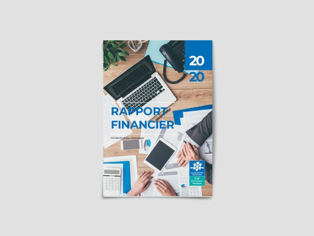 Design communication institutionnelle, rapport financier